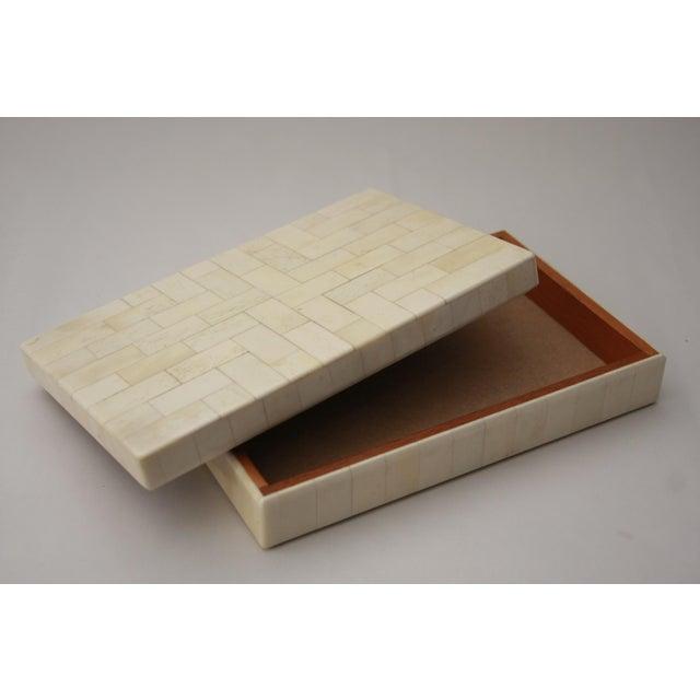 Tessellated Bone Trinket Box - Image 5 of 11