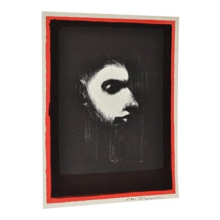 Black & White Lithograph by Nathan Oliveira