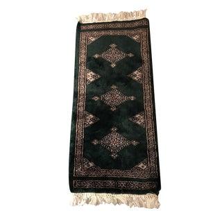 Miniature Vintage Persian Rug - 12″ × 2′4″