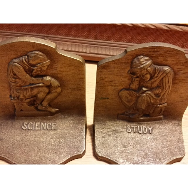 Bradley & Hubbard Science & Study Bookends - a Pair - Image 7 of 7