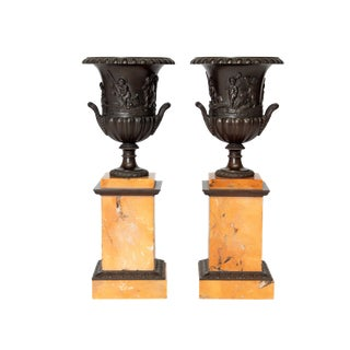 A Pair of 19th Century Grand Tour Urns