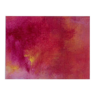 """Pink Tapas"" Original Modern Abstract Painting on Canvas"