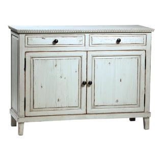 Rustic Grey Painted Sideboard