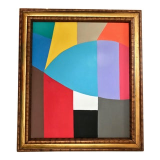 Mid-Century Abstract Expressionist Painting