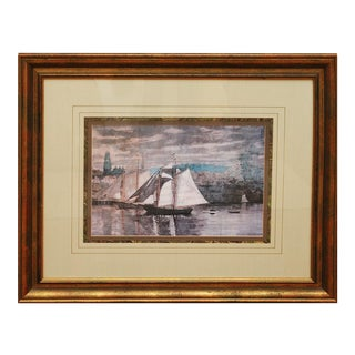 Vintage Reproduction Winslow Homer Print