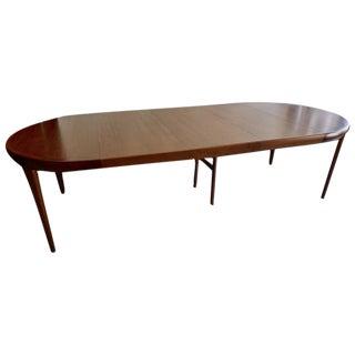 1950 Ib Kofod-Larsen Round Teak Table