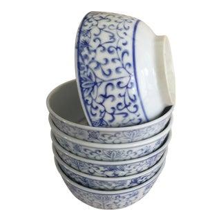 Vintage Asian Porcelain Bowls - Set of 6