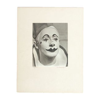 Vintage Clown Photograph Circa 1939