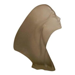Vintage Austin Productions Art Deco Style Star Gazer Sculpture Female Head