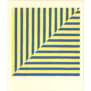 Frank Stella-Untitled (Rabat) (From Ten Works by Ten Painters)-1964 Serigraph
