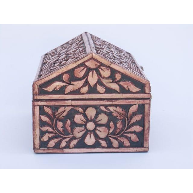 Image of Decorative Camel Bone Box