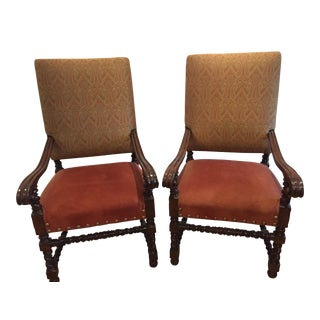 Sorrento Arm Chairs - A Pair