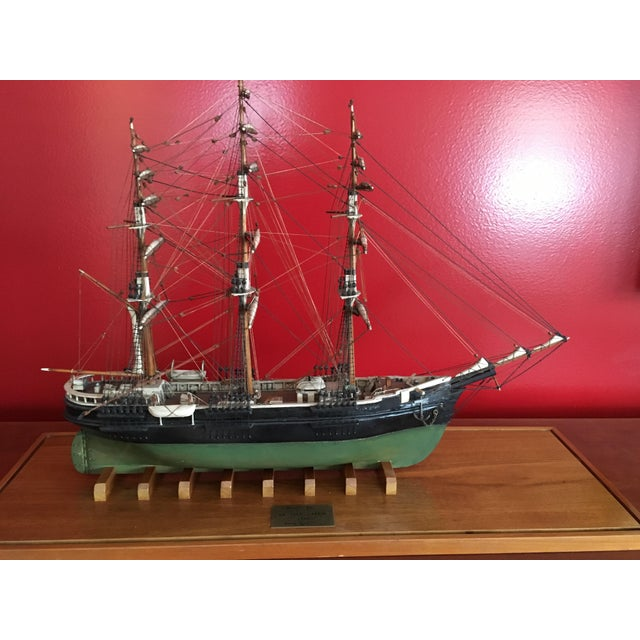 1940s Mid-Century Ship Model - Image 3 of 8