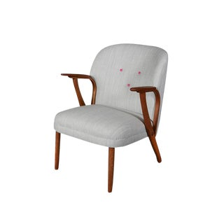 Mid-Century Steam Bent Arm Chair