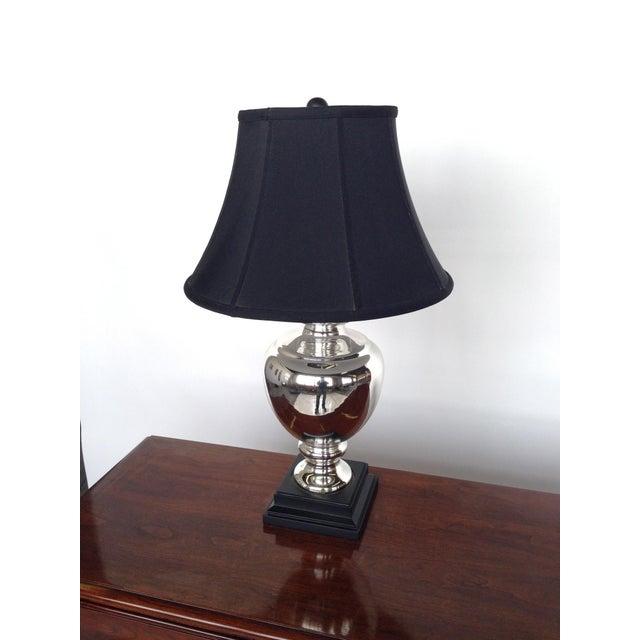 Mercury Glass Lamp - Image 5 of 5