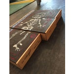 Image of Basquiat Inspired Mixed Media Cigar Box Wall Art
