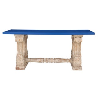 Louis XVI Blue Hall Table