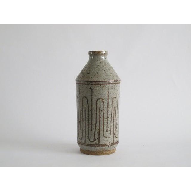 Image of Mid-century Danish Ceramic Bottle