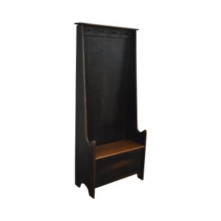 Custom Crafted Country Style Hall Seat