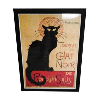 """Tournee Du Chat Noir"", Framed Poster"