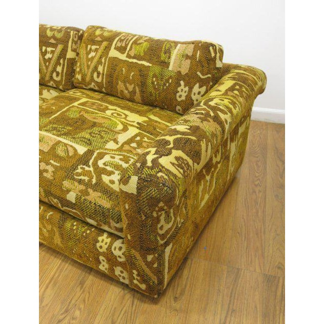 Milo Baughman for Thayer Coggin Abstract Patterned Sofa - Image 5 of 5