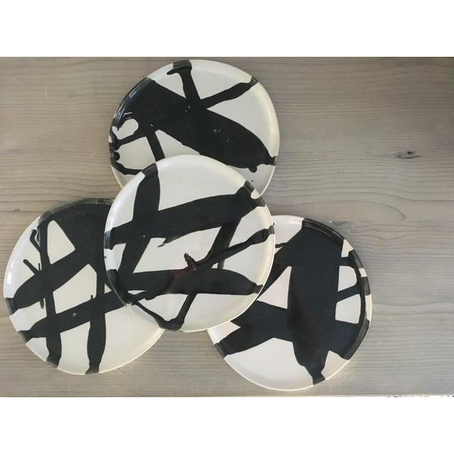 Alex Marshall Pottery Salad Plates - Set of 4 - Image 2 of 6