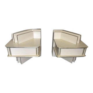 80's Rougier Cream & Gold Bedroom Set - Set of 4