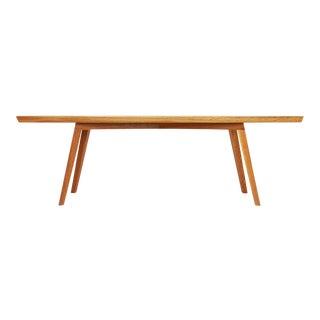 White Oak Modern Bench