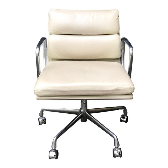 eames for herman miller soft pad office chair chairish