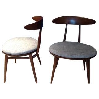 Vintage Heywood Wakefiled Chairs - A Pair