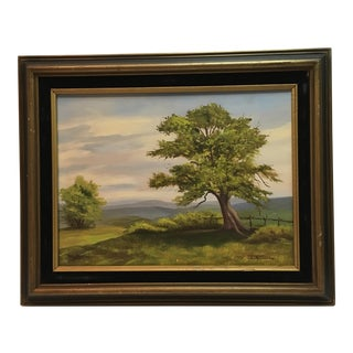 J. Calhoun Original Oil Painting