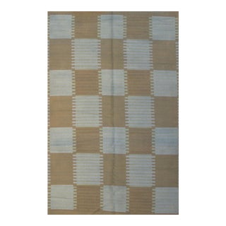 Pasargad N Y Scandinavian Design New Zealand Wool Rug - 5′9″ × 8′10″