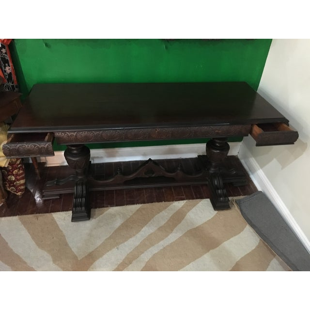 Antique Adjustable Library Table - Image 5 of 10