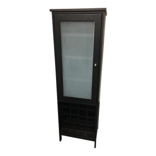 Room & Board Linear Storage/Wine Cabinet