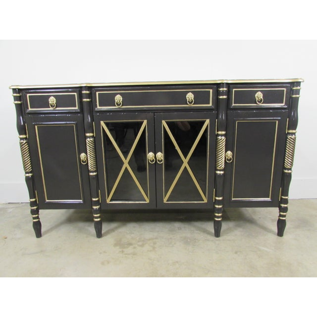Maison Jansen Black Sideboard - Image 8 of 9