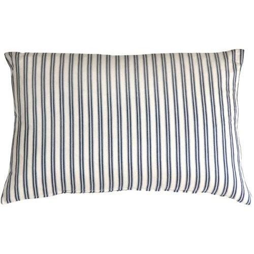 Pillow Decor - Catalina Ticking Blue 16x24 Pillow - Image 1 of 2