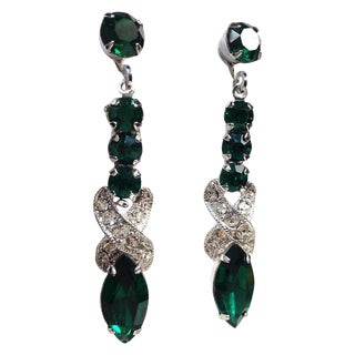 Eisenberg Green Drop Earrings