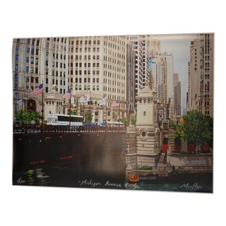 Michigan Avenue Bridge Giclee Print