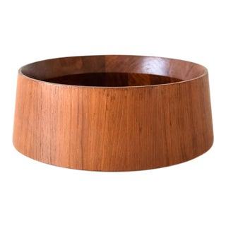 Large Danish Modern Wooden Dansk Teak Bowl