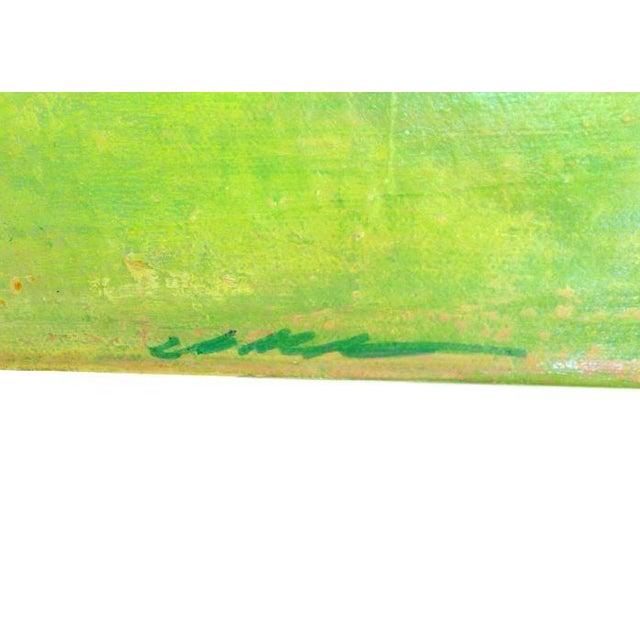 "Jo Mattison ""Orange Beach"" Painting - Image 2 of 3"