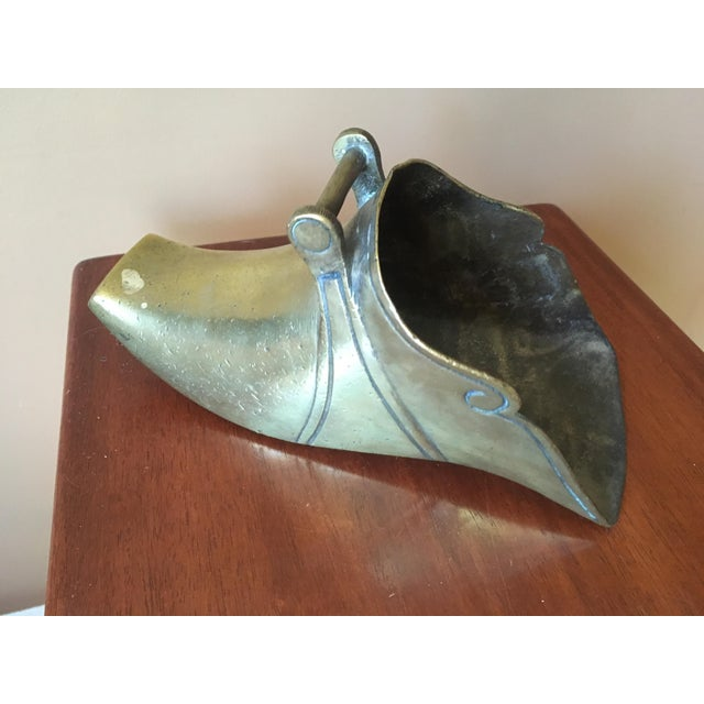 Image of Spanish Colonial Brass Stirrups - a Pair