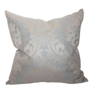 Vintage Patterned Velvet Pillow