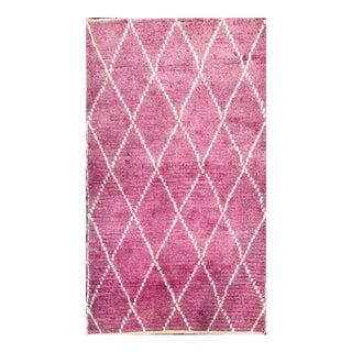 Pink Tulu Rug - 4′ × 6′3″