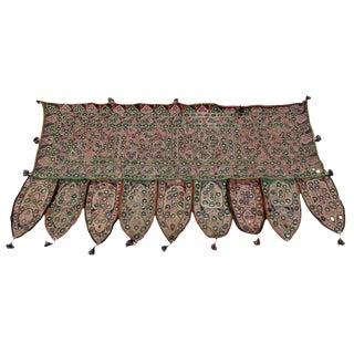 Hand-embroidered Toran