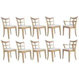 Paul Frankl Dining Chairs - Set of 10