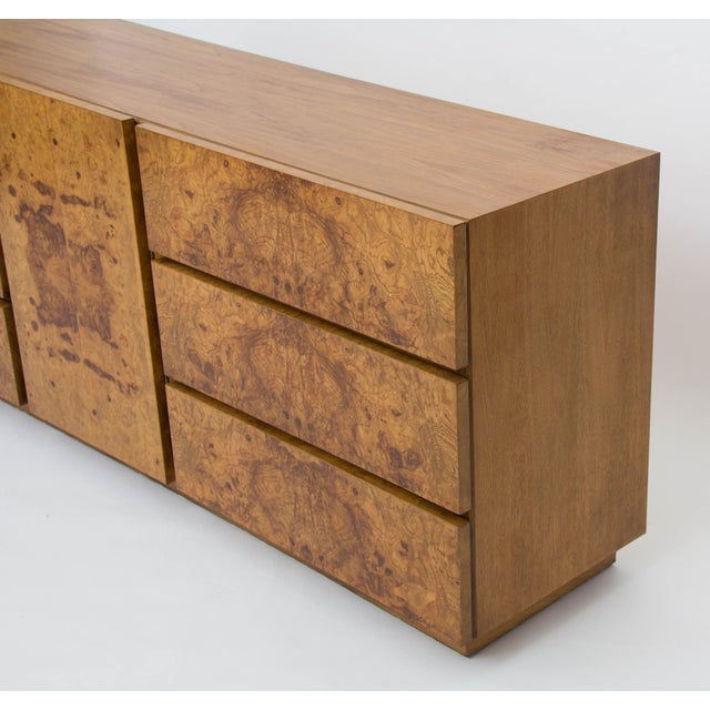 Olive Burl Wood Credenza or Dresser by Milo Baughman for Lane - Image 8 of 8