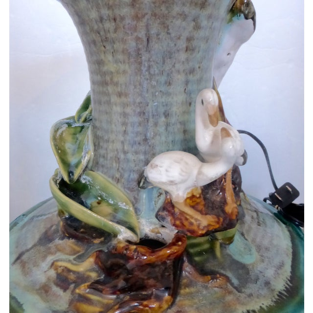 Image of Jar Shape Fountain with Ducks