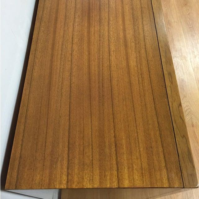 Zebra Wood and Brass 12 Drawer Dresser - Image 7 of 11