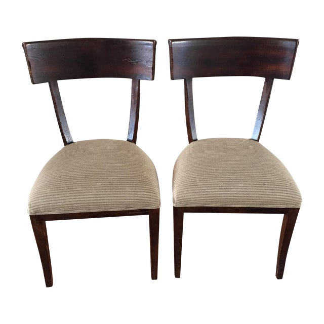 Milling Road Dining Chairs A Pair Chairish