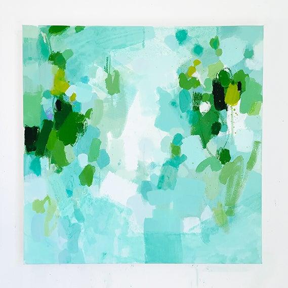 Katherine Jury - Green Botanical I Painting - Image 2 of 4